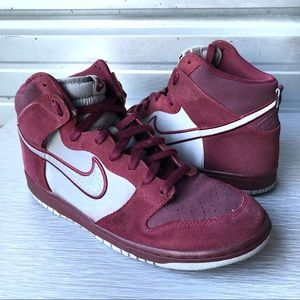 Nike | Dunk High Cherry Wood Red Reflective Silver